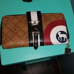 LAMB Saddle Bullseye Wallet